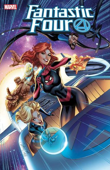 Marvel Comics Fantastic Four #15 Comic Book [J. Scott Campbell Variant Cover]