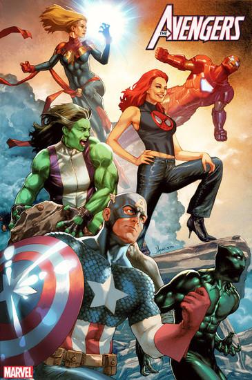 Marvel Comics Avengers #25 Comic Book [Jay Anacleto Variant Cover]