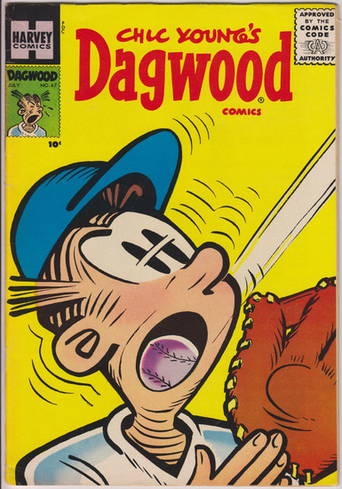 Harvey Comics Dagwood #67 Comic Book [Very Good]