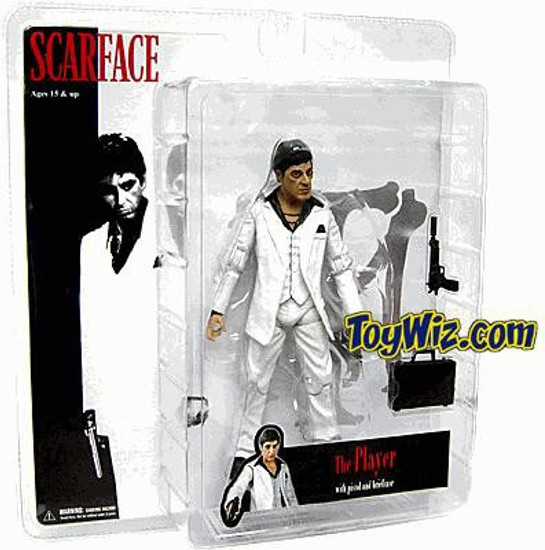 Scarface The Player Action Figure [White Suit, Damaged Package]