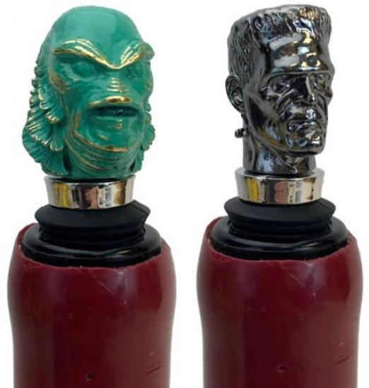 Universal Monsters The Creature From the Black Lagoon & Frankenstein's Monster Bottle Stopper Box Set (Pre-Order ships January)