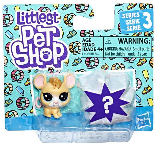 Littlest Pet Shop Series 3 Manny Mouser & Mystery Figure Mini Figure 2-Pack