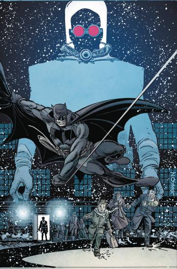 DC Black Label Batman Curse Of The White Knight Presents Von Freeze #1 Comic Book [Klaus Janson Variant Cover]