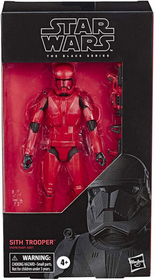 Star Wars The Rise of Skywalker Black Series Wave 33 Sith Trooper Action Figure