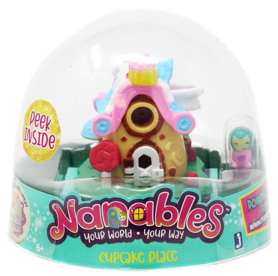 Nanables Cupcake Place .5-Inch Mini Playset