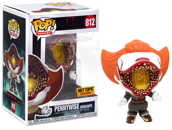Funko IT Movie Chapter 2 POP! Movies Pennywise Exclusive Vinyl Figure #812 [Deadlights, IT Box]