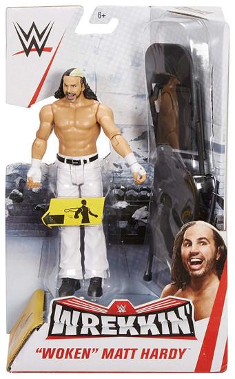 """WWE Wrestling Wrekkin' """"Woken"""" Matt Hardy Action Figure"""