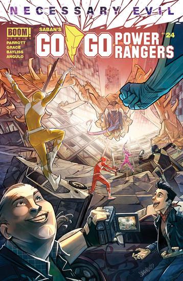 Boom Studios Go Go Power Rangers #24 Necessary Evil Comic Book