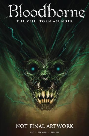 Titan Comics Bloodborne #16 The Veil, Torn Asunder Comic Book [Connor Magill Cover A]