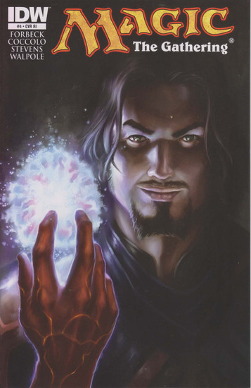 Magic The Gathering #4 Comic Book [Incentive Tyler Walpole Variant Cover]