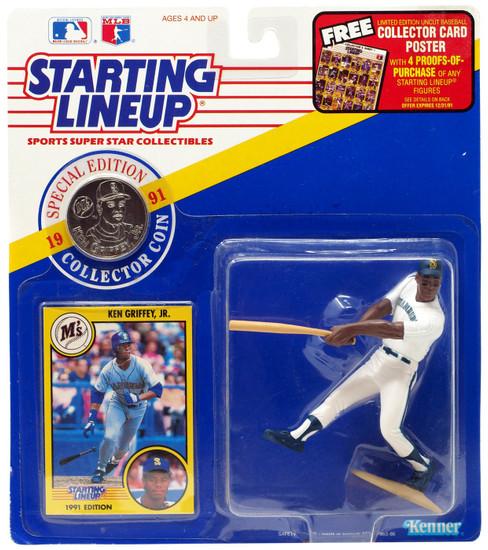 MLB Starting Lineup Ken Griffey, Jr. Action Figure [Moderate shelf wear]