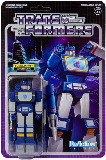 ReAction Transformers Soundwave Action Figure