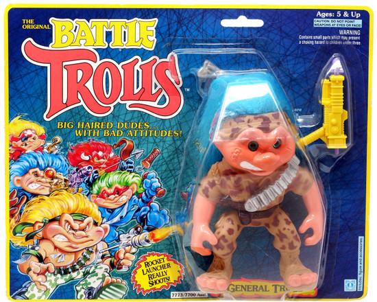 The Original Battle Trolls General Troll Figure [Moderate shelf wear]