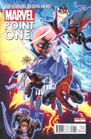 Marvel Comics Point One #1 Comic Book