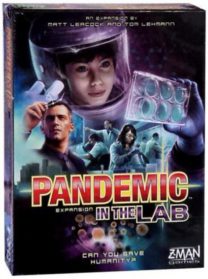 Pandemic: In The Lab Board Game Expansion