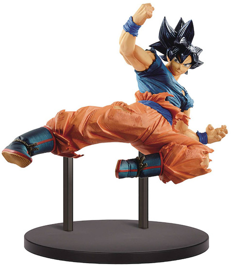Dragon Ball GT FES!! Ultra Instinct -Sign- Son Goku 7.9-Inch Collectible PVC Figure Vol.10 [Damaged Package]