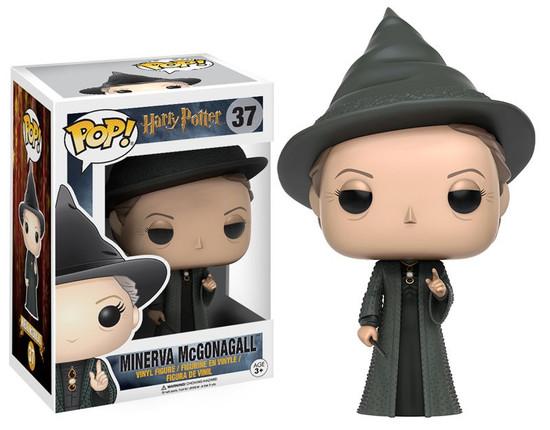 Funko Harry Potter POP! Movies Minerva McGonagall Vinyl Figure #37 [Damaged Package]