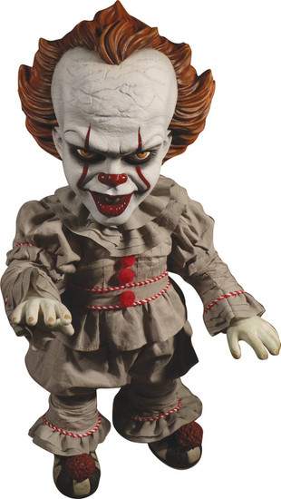 IT Movie (2017) Pennywise Mega Scale TALKING Action Figure [2017 Version, Damaged Package]