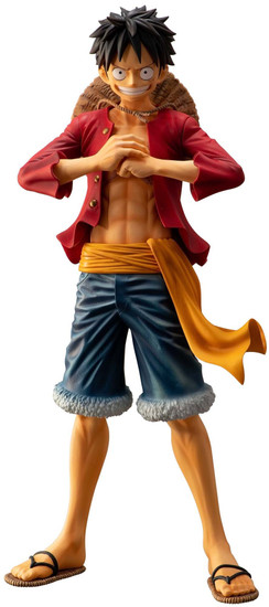 One Piece Ichiban Monkey D Luffy 11-Inch Collectible PVC Figure [The Bonds of Brothers]