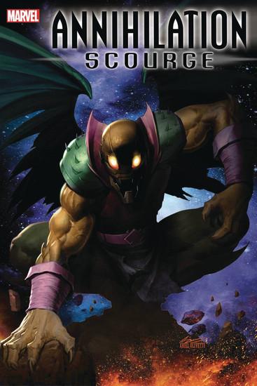 Marvel Comics Annihilation #1 Scourge Alpha Comic Book [Ariel Olivetti Variant Cover]