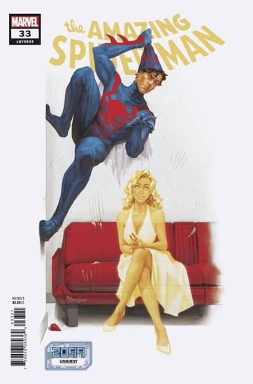 Marvel Comics Amazing Spider-Man #33 2099 Comic Book [Miguel Mercado Variant Cover]