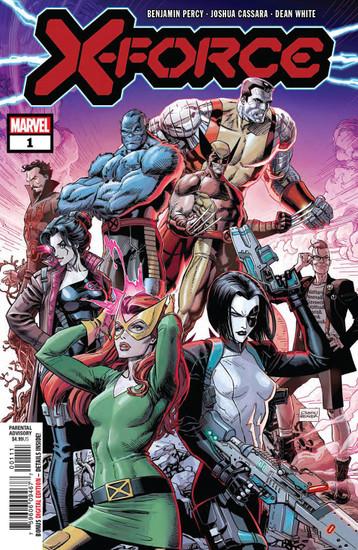 Marvel Comics X-Force #1 Comic Book