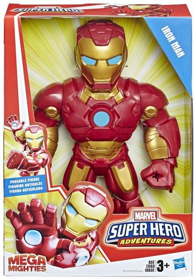 Marvel Playskool Heroes Super Hero Adventures Mega Mighties Iron Man Action Figure