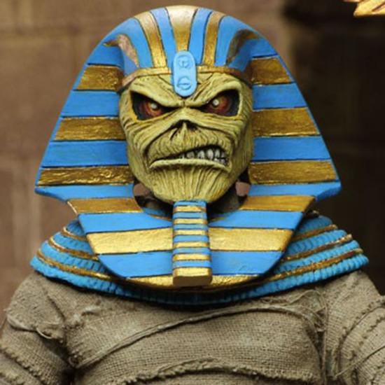 Neca Iron Maiden Pharaon Eddie Clothed Action Figure