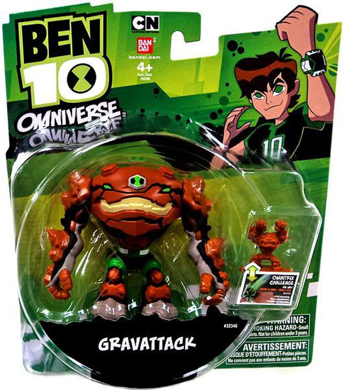 Ben 10 Omniverse Gravattack Action Figure [Damaged Package]