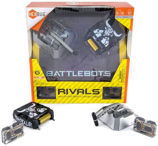 Hexbug Battlebots Rivals Beta vs. Minotaur Battle Strategy Kit