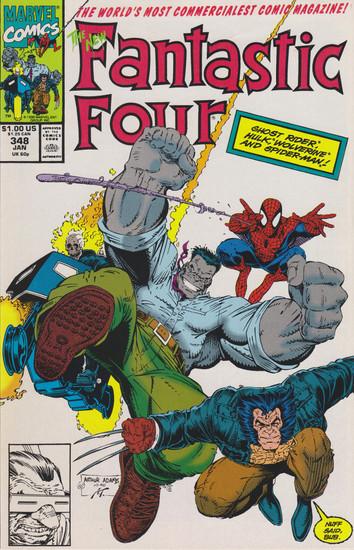 Marvel Comics Fantastic Four #348 Comic Book