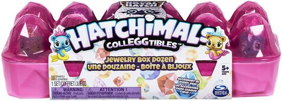 Hatchimals Colleggtibles Season 6 The Royal Hatch Jewelry Box Mystery 12-Pack [Dozen, Random Color Egg Carton]