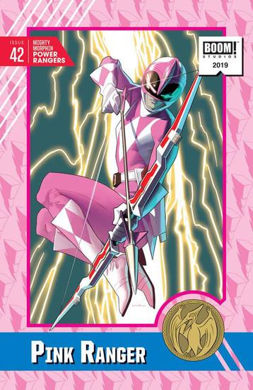 Boom Studios Mighty Morphin Power Rangers #42 Necessary Evil Comic Book [Kris Anka Variant Cover]