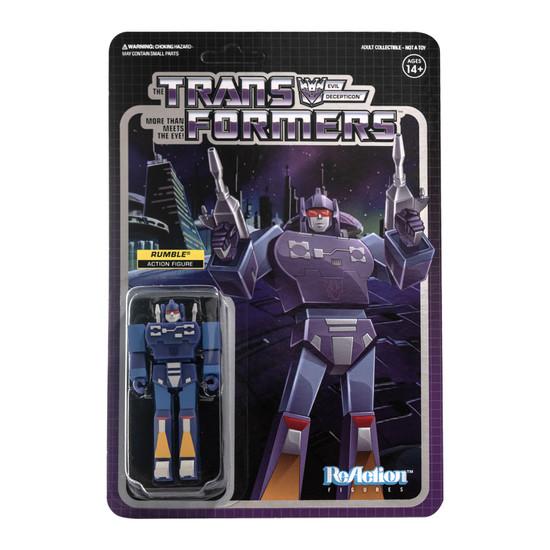 ReAction Transformers Rumble Action Figure