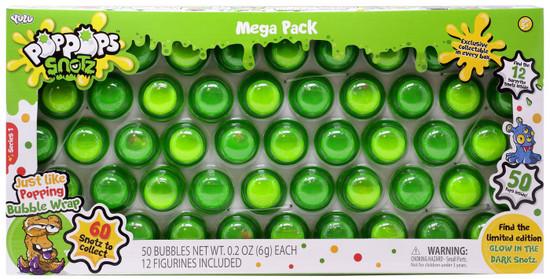 Pop Pops Snotz Series 1 MEGA Pack 50-Pack [Green]