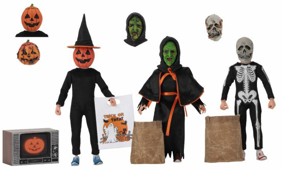 NECA Halloween 3: Season of the Witch Clothed Action Figure 3-Pack