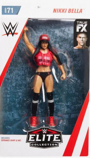 WWE Wrestling Elite Collection Series 71 Nikki Bella Action Figure [Black Bellalution Top]