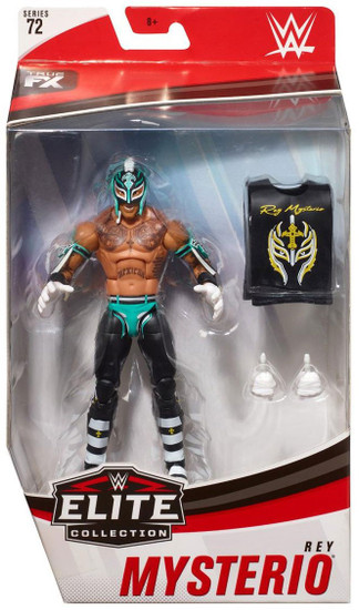 WWE Wrestling Elite Collection Series 72 Rey Mysterio Action Figure