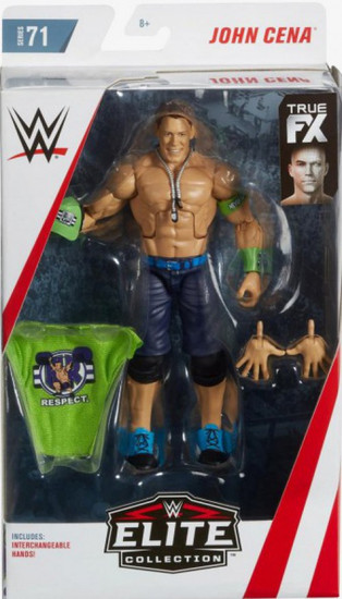 WWE Wrestling Elite Collection Series 71 John Cena Action Figure [Interchangeable Hands]