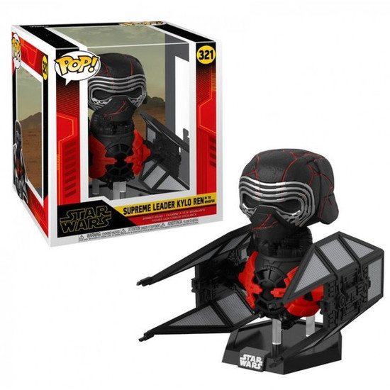 Funko The Rise of Skywalker POP! Star Wars Supreme Leader Kylo Ren Deluxe Vinyl Figure #321