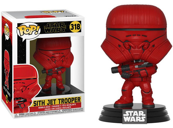 Funko The Rise of Skywalker POP! Star Wars Sith Jet Trooper Vinyl Figure #318
