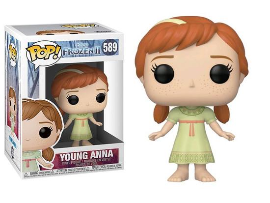 Disney Frozen Young Anna Funko Pop Vinyl 117 New Vaulted
