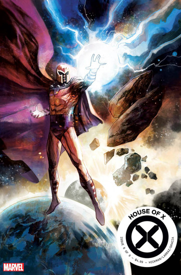 Marvel House of X #6 Comic Book [Mike Huddleston Variant Cover]
