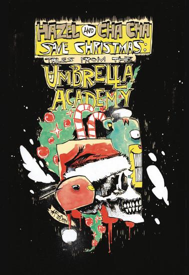 Dark Horse Hazel & Cha Cha Save Christmas Tales Umbrella Academy #1 Comic Book [Jim Mahfood Variant Cover B]