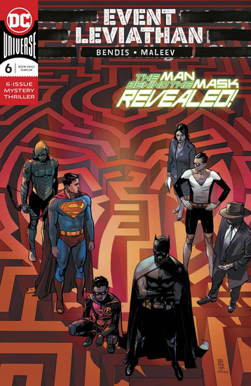 DC Event Leviathan #6 Comic Book