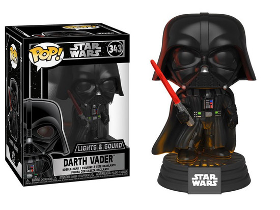 Funko POP! Star Wars Darth Vader Electronic Vinyl Figure #343 [Lights & Sound]