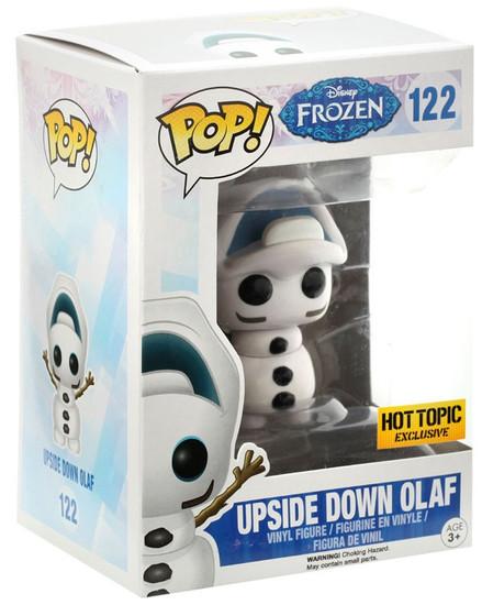 Funko Disney Frozen POP! Movies Upside Down Olaf Exclusive Vinyl Figure #122 [Upside Down Head]