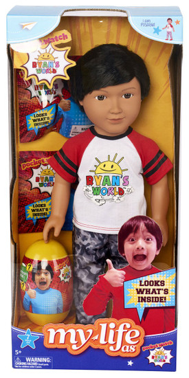 Pocket Watch Ryan's World My Life As Ryan Exclusive 18-Inch Doll