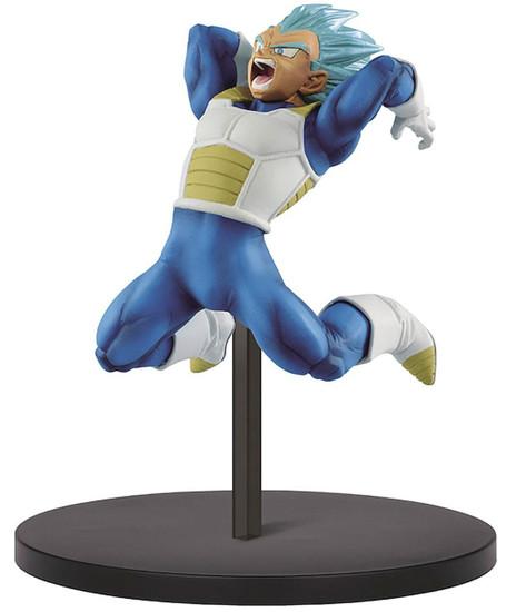 Dragon Ball Z: Buyu Retsuden Chosenshiretsuden Super Saiyan Blue Vegeta 6.3-Inch Collectible PVC Figure
