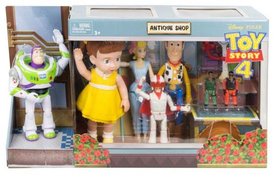 Toy Story 4 Antique Shop Exclusive Action Figure 8-Pack Set